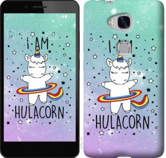 "Чехол на Huawei Honor 5X I'm hulacorn ""3976c-176-19380"""