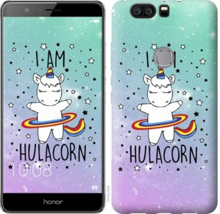 "Чехол на Huawei Honor V8 I'm hulacorn ""3976u-608-19380"""