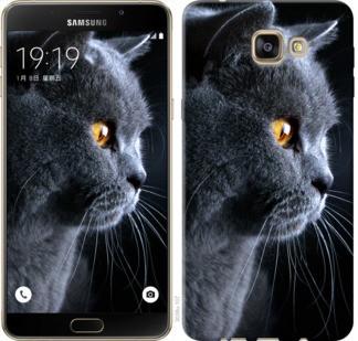 "Чехол на Samsung Galaxy A9 A9000 Красивый кот ""3038u-107-19380"""
