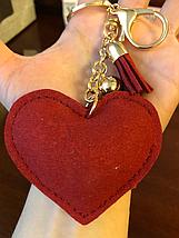 Брелок на сумку в форме Сердца, фото 3