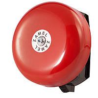 Звонок школьный малый Zamel красный (DNS-212M)