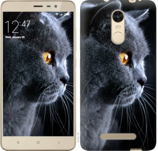 "Чехол на Xiaomi Redmi Note 3 Красивый кот ""3038c-95-19380"""