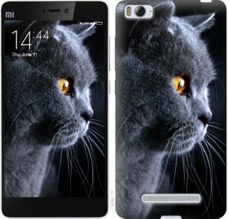 """Чехол на Xiaomi Mi4i Красивый кот """"3038c-177-19380"""""""