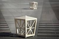 Светильник Эльф без осветительного блока Белый перламутр (Pradex ТМ)