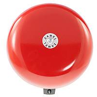 Звонок школьный большой Zamel красный (DNS-212D)