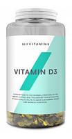 Витамины Myprotein - Vitamin D3 (180 капсул)
