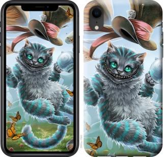 """Чехол на iPhone XR Чеширский кот 2 """"3993c-1560-19380"""""""