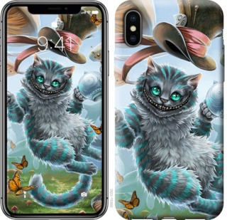 "Чехол на iPhone XS Чеширский кот 2 ""3993c-1583-19380"""