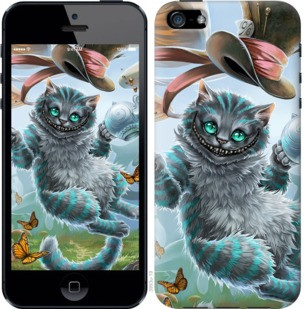 """Чехол на iPhone 5 Чеширский кот 2 """"3993u-18-19380"""""""
