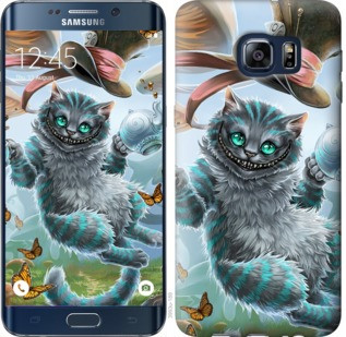 "Чехол на Samsung Galaxy S6 Edge Plus G928 Чеширский кот 2 ""3993u-189-19380"""