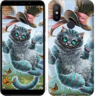 "Чехол на Xiaomi Mi A2 Чеширский кот 2 ""3993c-1481-19380"""