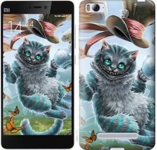 "Чехол на Xiaomi Mi4c Чеширский кот 2 ""3993c-178-19380"""