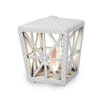 Светильник Эльф с осветительным блоком Коричневый (Pradex ТМ) Белый
