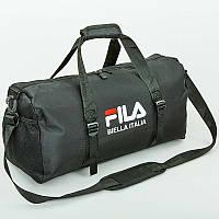 Сумка для спортзала FILA GA-806 (черный), фото 1