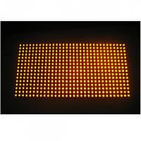 Светодиодный модуль P10DIPO-Y жёлтый для светодиодных экранов и вывесок IP65