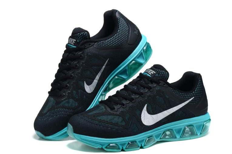 cb012d17 ... Мужские кроссовки Nike Air Max 2015 Tailwind 7 Running 20k7  черно-голубые, фото 3 ...