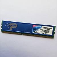 Игровая оперативная память Patriot DDR3 2Gb 1600MHz PC3 12800U 2R8 CL9 (PSD34G1600KH) Б/У