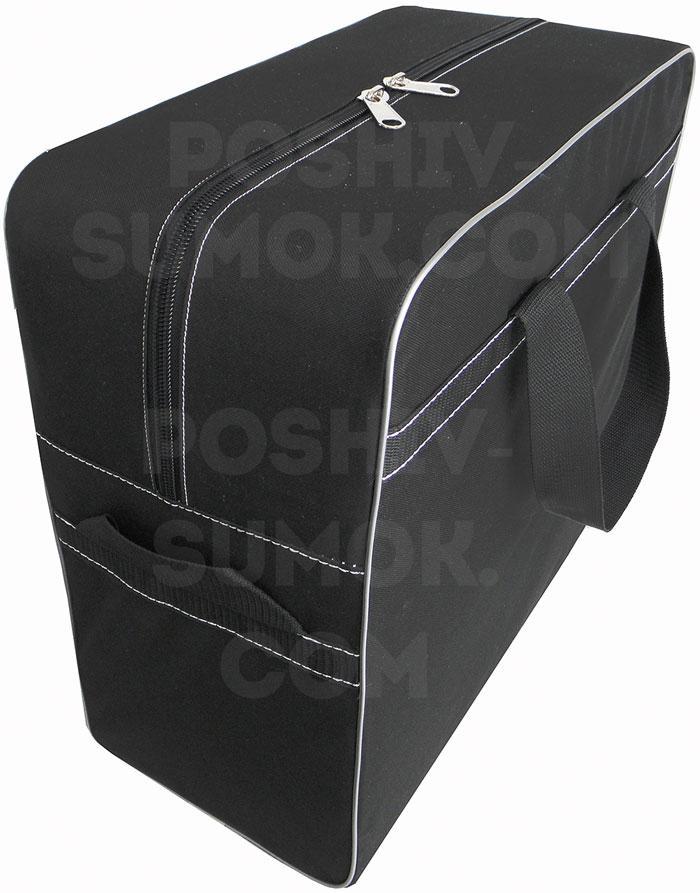 Сумка тканевая, для ручной клади, для самолёта, для авиаперелётов, размер 55-40-20 см (д-в-ш)