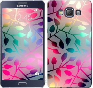 "Чехол на Samsung Galaxy A7 A700H Листья ""2235c-117-19380"""