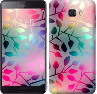"""Чехол на Samsung Galaxy C9 Pro Листья """"2235u-720-19380"""""""