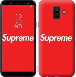 "Чехол на Samsung Galaxy A6 2018 supreme ""3987c-1480-19380"""