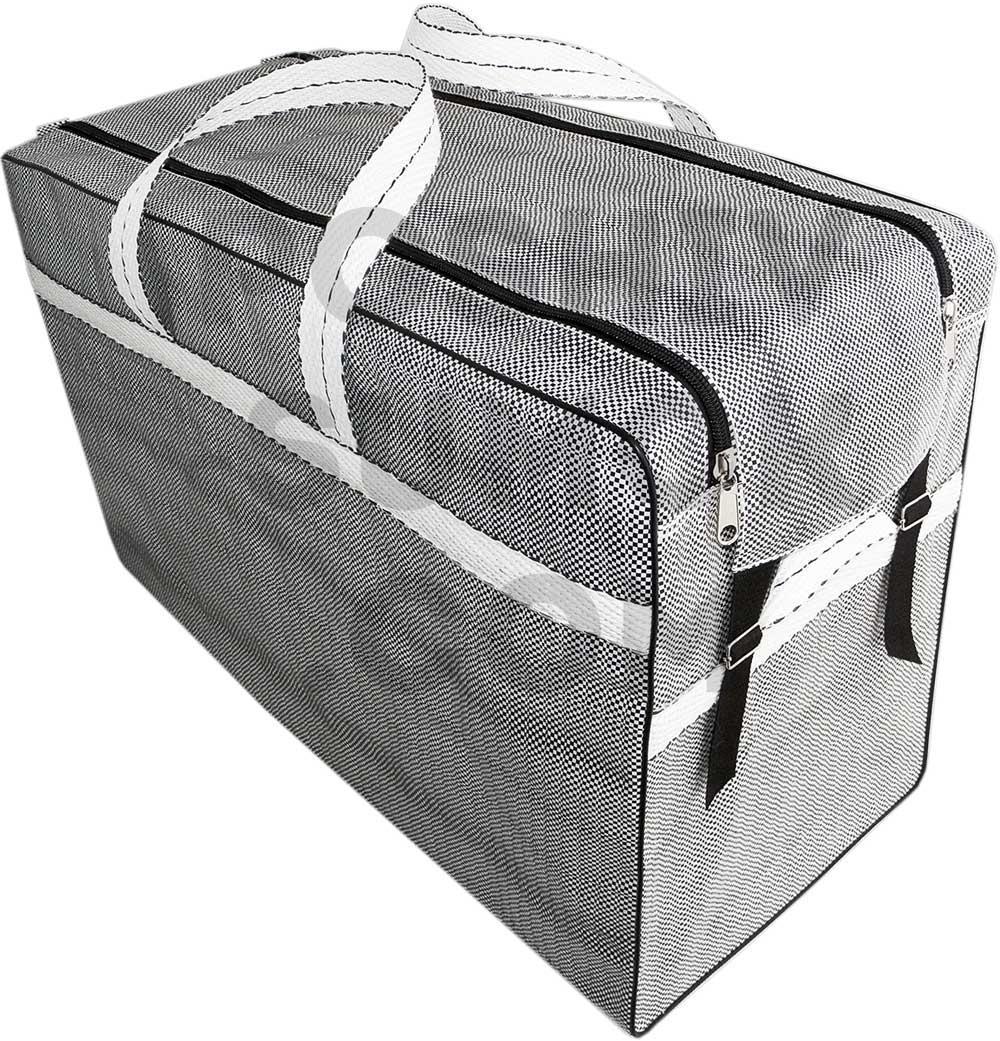 Сумка полипропиленовая, хозяйственная, для багажа, для самолёта,  размер 70-51-37 см (д-в-ш)