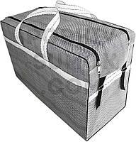 Сумка полипропиленовая размер 70-51-37 см (д-в-ш), для багажа, для самолёта.