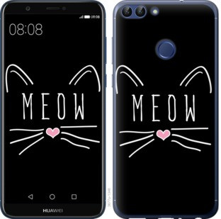 "Чехол на Huawei P Smart Kitty ""3677c-1346-19380"""