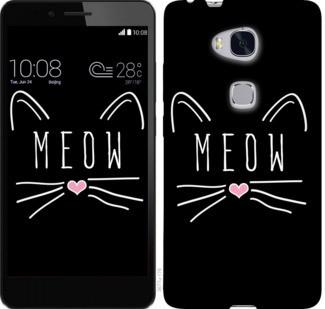 """Чехол на Huawei Honor 5X Kitty """"3677c-176-19380"""""""