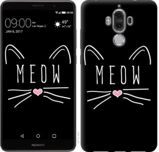 "Чехол на Huawei Mate 9 Kitty ""3677u-425-19380"""