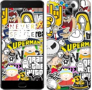 "Чехол на OnePlus 3T Popular logos ""4023c-1617-19380"""
