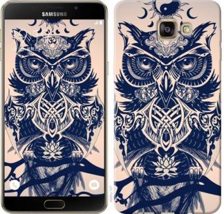 "Чехол на Samsung Galaxy A9 A9000 Узорчатая сова ""4000u-107-19380"""