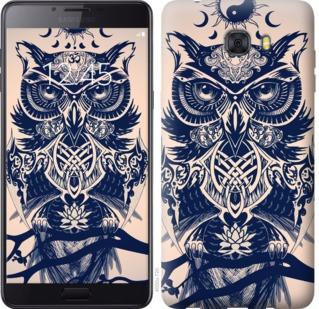 "Чехол на Samsung Galaxy C9 Pro Узорчатая сова ""4000u-720-19380"""