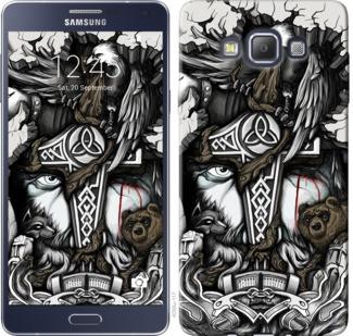 "Чехол на Samsung Galaxy A7 A700H Тату Викинг ""4098c-117-19380"""