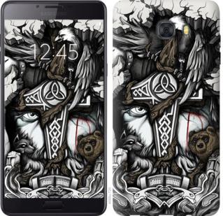 "Чехол на Samsung Galaxy C9 Pro Тату Викинг ""4098u-720-19380"""