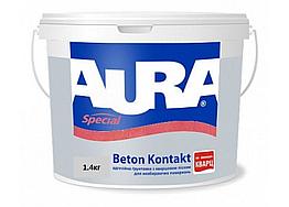 Универсальная адгезионная грунтовка Aura Beton Kontakt 1.4кг