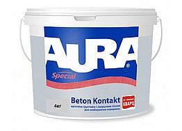 Универсальная адгезионная грунтовка Aura Beton Kontakt 4кг