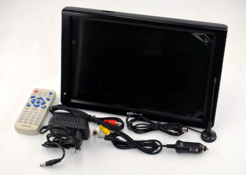 """Переносний телевізор Eplutus EP-124T 12"""", цифровий і аналоговий тюнер"""
