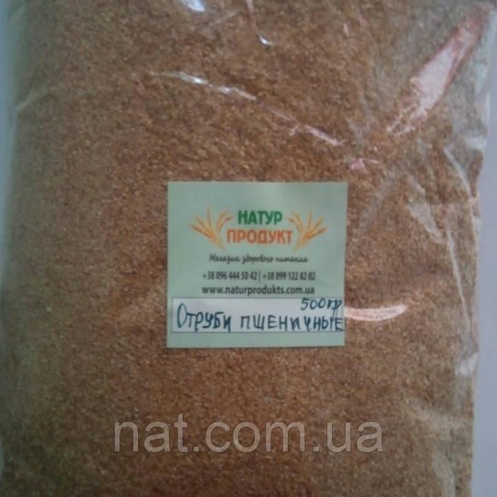 Отруби пшеничные ТМ Добрянські Лани, 500г