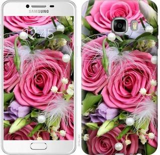 """Чехол на Samsung Galaxy C7 C7000 Нежность """"2916u-302-19380"""""""