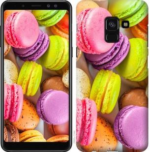 "Чехол на Samsung Galaxy A8 2018 A530F Макаруны ""2995c-1344-19380"""