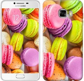 "Чехол на Samsung Galaxy C7 C7000 Макаруны ""2995u-302-19380"""