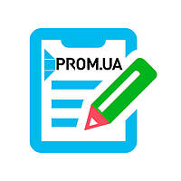 Базовое наполнение сайта на Prom.ua