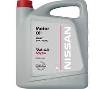Моторное масло NISSAN 5W40 (5л), фото 1