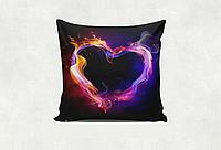 """Подушка """"Огненное сердце"""""""