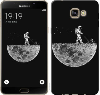 "Чехол на Samsung Galaxy A9 A9000 Moon in dark ""4176u-107-19380"""