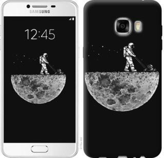 "Чехол на Samsung Galaxy C7 C7000 Moon in dark ""4176u-302-19380"""