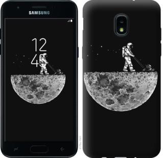 "Чехол на Samsung Galaxy J3 2018 Moon in dark ""4176u-1501-19380"""