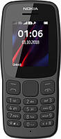 Телефон NOKIA 106 2018 Dual Sim (black), фото 1