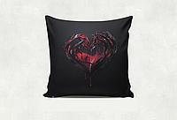 "Подушка ""Сердце"" (черн.подушка)"